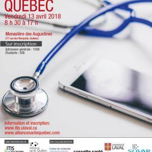 Colloque Santé + Numérique Québec
