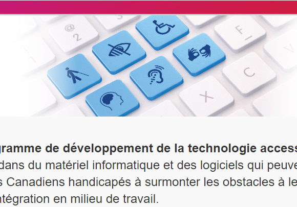Programme de développement de la technologie accessible